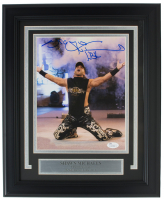"Shawn Michaels Signed WWE 11x14 Custom Framed Photo Display Inscribed ""HBK"" (JSA COA) at PristineAuction.com"