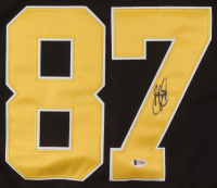 Sidney Crosby Signed Pittsburgh Penguins Captains Jersey (Beckett COA) at PristineAuction.com