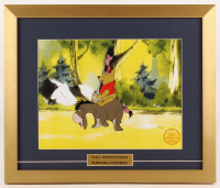 "Walt Disney's ""Winnie-the-Pooh"" 16x19 Custom Framed Hand-Painted Animation Serigraph Display"