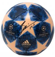 "Lionel Messi Signed UEFA Champions League Adidas Soccer Ball Inscribed ""Leo"" (JSA COA & Icons COA)"