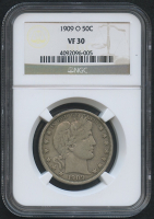 1909 50¢ Barber Half Dollar (NGC VF 30) at PristineAuction.com