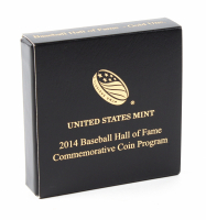 2014-W Gold $5 Baseball Hall of Fame Gold Coin - Early Releases (NGC PF 70 Ultra Cameo) at PristineAuction.com