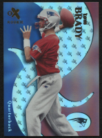 2000 E-X #122 Tom Brady RC at PristineAuction.com