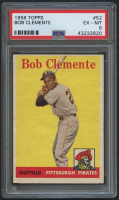 1958 Topps #52 Roberto Clemente (PSA 6) at PristineAuction.com