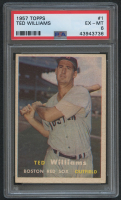 1957 Topps #1 Ted Williams (PSA 6) at PristineAuction.com