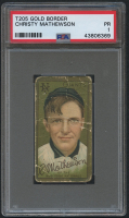 1911 T205 Gold Border #124 Christy Mathewson (PSA 1) at PristineAuction.com