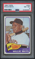 1965 Topps #250 Willie Mays (PSA 8) at PristineAuction.com