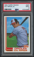 1982 Topps Traded #98T Cal Ripken RC (PSA 9) at PristineAuction.com