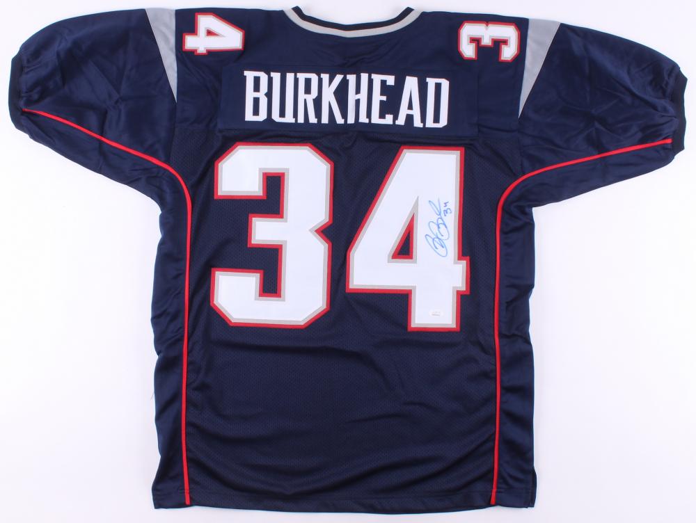 Rex Burkhead Signed Jersey (JSA COA)   Pristine Auction