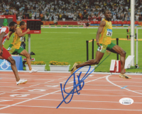 Usain Bolt Signed 8x10 Photo (JSA COA)