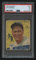 1934 Goudey #37 Lou Gehrig (PSA 1.5) at PristineAuction.com