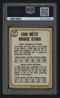 1968 Topps #177 Rookie Stars/Jerry Koosman RC/Nolan Ryan RC (PSA 2) at PristineAuction.com