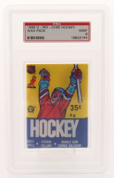 1985-86 O-Pee-Chee Hockey Wax Pack (PSA 9) at PristineAuction.com