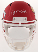 Joe Montana Signed San Fransisco 49ers AMP Full-Size Speed Helmet (Schwartz COA)