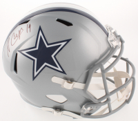 Amari Cooper Signed Dallas Cowboys Speed Full-Size Helmet (Beckett COA)