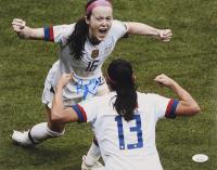 Rose Lavelle Signed Team USA Soccer 11x14 Photo (JSA COA)