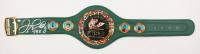 "Floyd Mayweather Jr. Signed Full-Size WBC Heavyweight Championship Belt Inscribed ""TBE"" (Schwartz COA)"