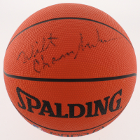 Wilt Chamberlain Signed NBA Basketball (SGC LOA) at PristineAuction.com