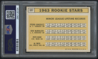 1963 Topps #537 Rookie Stars / Pete Rose RC (PSA 7) at PristineAuction.com