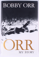 "Bobby Orr Bruins Signed ""Orr: My Story"" Hardcover Book (Orr COA) at PristineAuction.com"