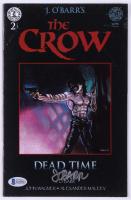 "James O'Barr Signed ""The Crow"" #2 Comic Book (Beckett COA)"