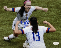 Rose Lavelle Signed Team USA Soccer 8x10 Photo (JSA COA) at PristineAuction.com