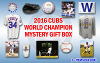 2016 Chicago Cubs World Champs Mystery Autograph Gift Box – Series 7 (Limited to 108) (4+ ITEMS IN EVERY BOX!!)