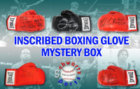 Schwartz Sports Boxing Superstar Signed & Inscribed Boxing Glove Mystery Box - Series 1 (Limited to 100)