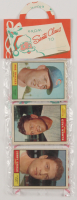 1961 Topps Baseball Christmas Rack Pack with (12) Cards