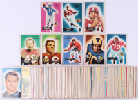 Complete Set of (160) 1955 Bowman Football Cards with #152 Tom Landry, #52 Pat Summerall RC, #7 Frank Gifford, #104 Leo Nomellini, #43 Tom Fears, #71 Bobby Layne, #48 Dick Moegle RC, #72 Y.A.Tittle