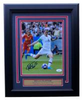 Megan Rapinoe Signed Team USA Soccer 11x14 Custom Framed Photo Display (JSA COA)