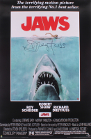 "Richard Dreyfuss Signed ""Jaws"" 24x36 Movie Poster (Dreyfuss Hologram)"