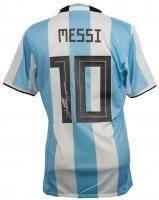 "Lionel Messi Signed Team Argentina Adidas Jersey Inscribed ""Leo"" (Messi COA)"