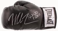 Mike Tyson & Evander Holyfield Signed Everlast Boxing Glove (JSA COA & Fiterman Sports Hologram)