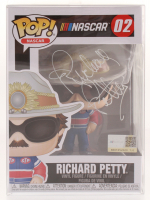 Richard Petty Signed NASCAR #02 Funko Pop Vinyl Figure (JSA COA)