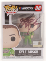 Kyle Busch Signed NASCAR #08 Funko Pop Vinyl Figure (JSA COA)