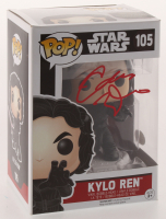 "Adam Driver Signed ""Star Wars"" #105 Kylo Ren Funko Pop! Vinyl Figure (JSA Hologram)"