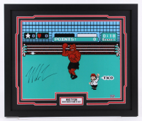 """Mike Tyson Signed """"Punch-Out!!"""" 22x26 Custom Framed Photo Display (Fiterman Sports Hologram)"""
