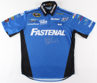 Ricky Stenhouse Jr. Signed Race-Used Roush Fenway Racing Jersey (Pristine Authentic COA) at PristineAuction.com