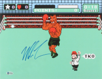 "Mike Tyson Signed ""Punch-Out!!"" 11x14 Photo (Beckett COA) at PristineAuction.com"