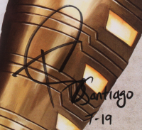 Tony Santiago - Shazam! - DC Comics 13x19 Signed Lithograph (PA COA) at PristineAuction.com