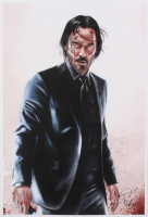 Tony Santiago - John Wick - 13x19 Signed Lithograph (PA COA) at PristineAuction.com