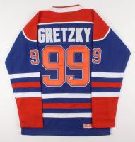 Wayne Gretzky Signed Edmonton Oilers Captains Jersey (Beckett LOA)