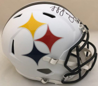 Juju Smith-Schuster Signed Pittsburgh Steelers AMP Full-Size Speed Helmet (TSE COA)