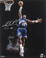 Karl Malone Signed Jazz 16x20 Photo (Beckett COA) at PristineAuction.com