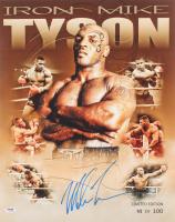Mike Tyson Signed LE 16x20 Photo (PSA COA)