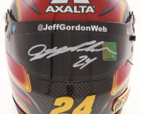 Jeff Gordon Signed NASCAR Limited Edition Axalta 1:3 Scale Mini-Helmet (Gordon Hologram) at PristineAuction.com