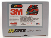 Jeff Gordon Signed NASCAR Limited Edition 3M 1:3 Scale Mini-Helmet (Gordon Hologram) at PristineAuction.com