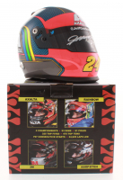 Jeff Gordon Signed NASCAR Limited Edition Axalta Rainbow 1:3 Scale Mini-Helmet (Gordon Hologram) at PristineAuction.com