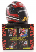 Jeff Gordon Signed NASCAR Limited Edition AARP/DTEH 1:3 Scale Mini-Helmet (Gordon Hologram) at PristineAuction.com